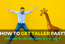 how to get taller fast
